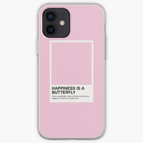 Le bonheur est un Swatch Butterfly Pantone Coque souple iPhone