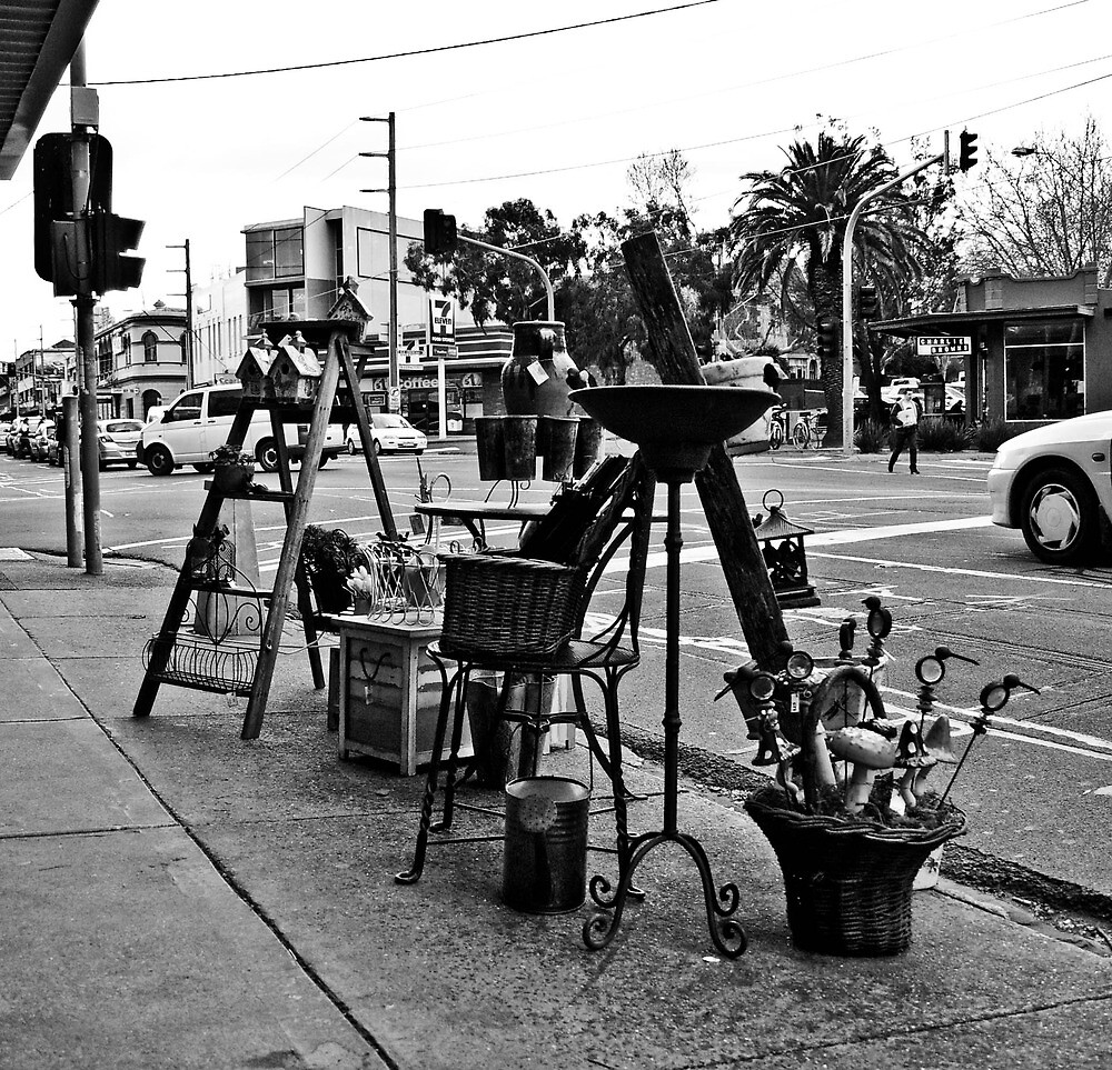 St. Kilda streetscape by skyebelle