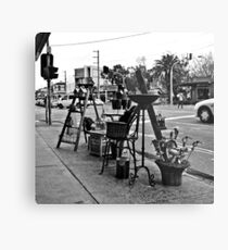 St. Kilda streetscape Metal Print