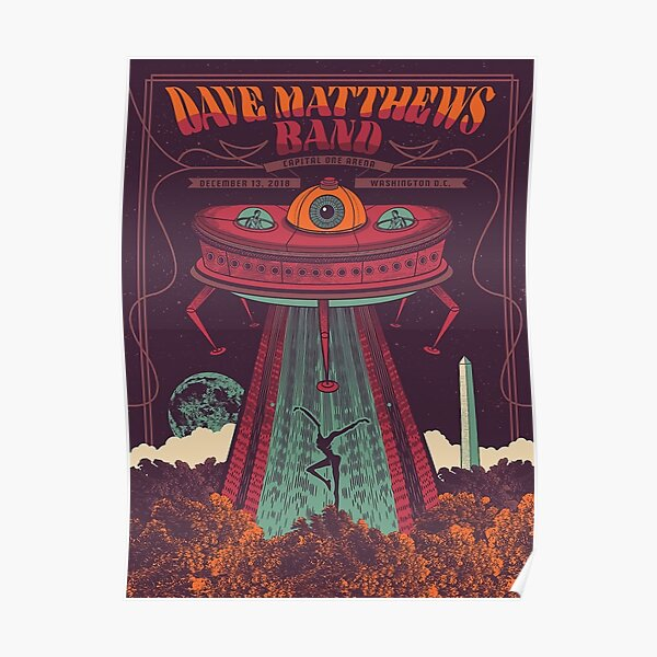 #DMB2018 CAPITAL ONE ARENA Washington DC Poster