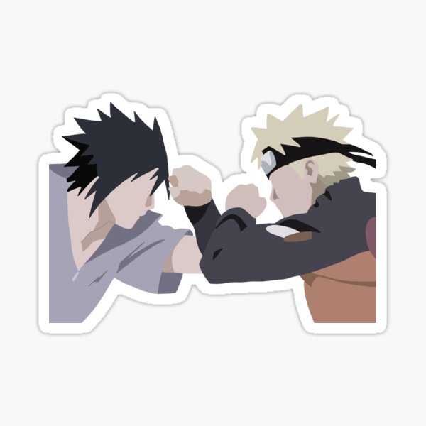 Dark Shinobi vs Light Shinobi  Sticker