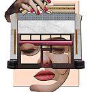 Pink portrait construction by Boris Peianov