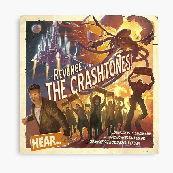 REVENGE of the CRASHTONES Canvas Print