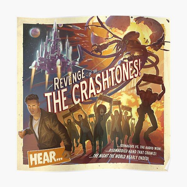 REVENGE of the CRASHTONES Poster