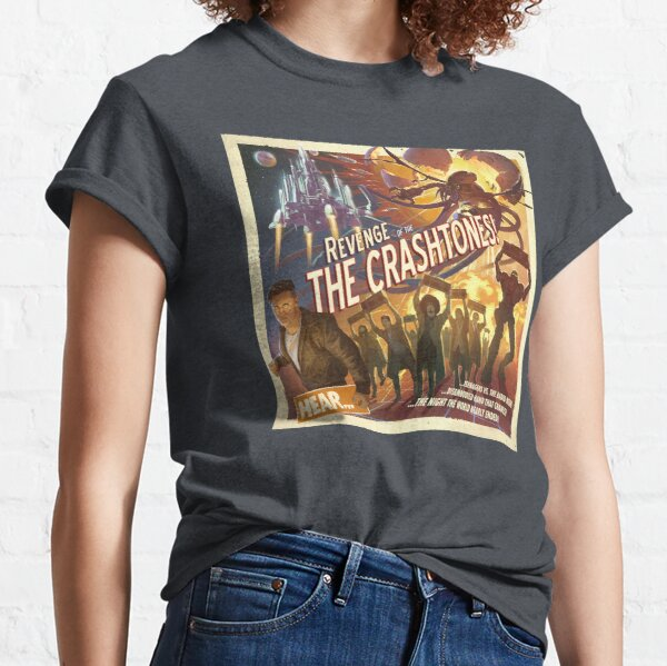 REVENGE of the CRASHTONES Classic T-Shirt