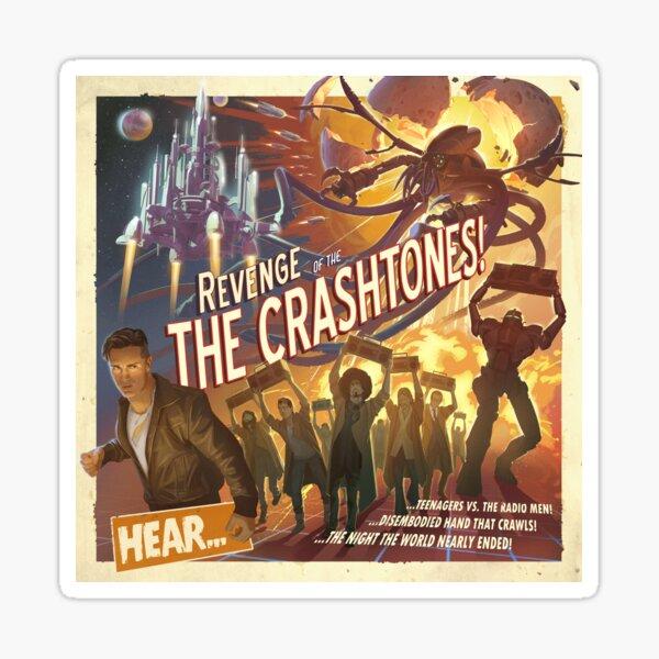 REVENGE of the CRASHTONES Sticker