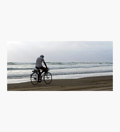 Baylys Beach bikey Photographic Print