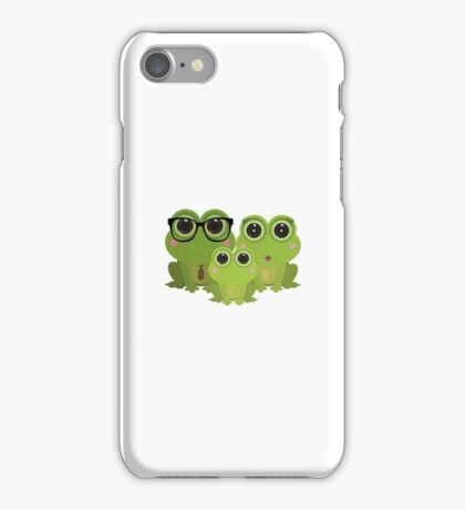 Frog Family iPhone Case/Skin