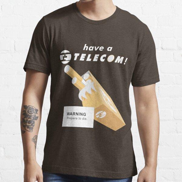 Telecom Cigarettes Will Kill You Alternative Essential T-Shirt