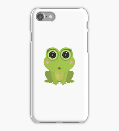 Female Frog iPhone Case/Skin