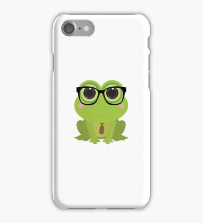 Frog Nerd iPhone Case/Skin