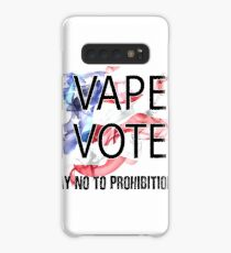 I VAPE I VOTE NO to Prohibition  Case/Skin for Samsung Galaxy