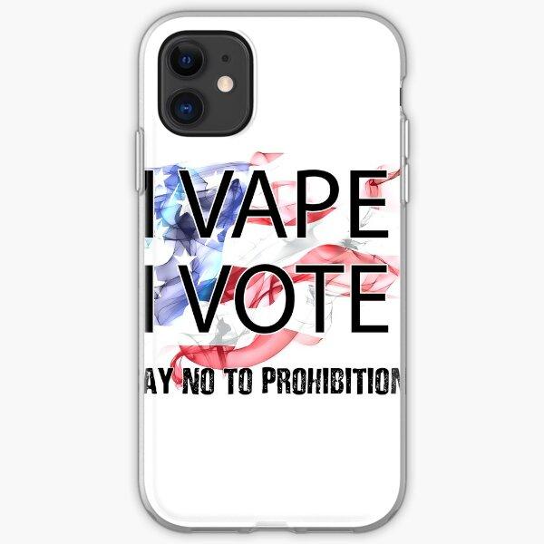 I VAPE I VOTE NO to Prohibition  iPhone Soft Case