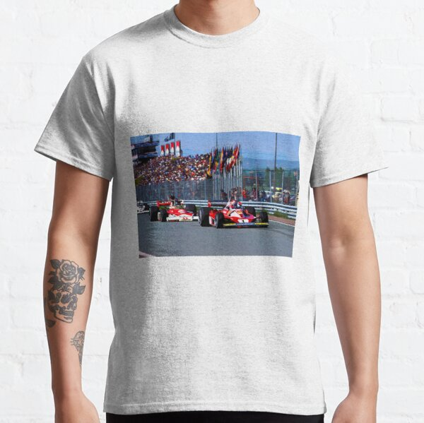 "/""james Hunt/"" T-shirt inspiré par Rush nikki lauda, hesketh, F1, Formule 1"