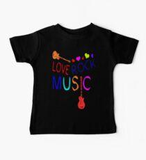 LOVE ROCK MUSIC  Kids Clothes