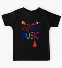 LOVE ROCK MUSIC  Kids Clothes