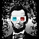 Abraham Lincoln - 3D (2) (Black) by Adamzworld