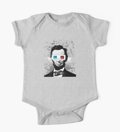 Abraham Lincoln - 3D (2) Kids Clothes