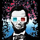 Abraham Lincoln - 3D (Black) by Adamzworld