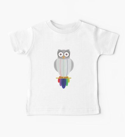 Rainbow Owl (Rainbow) Kids Clothes