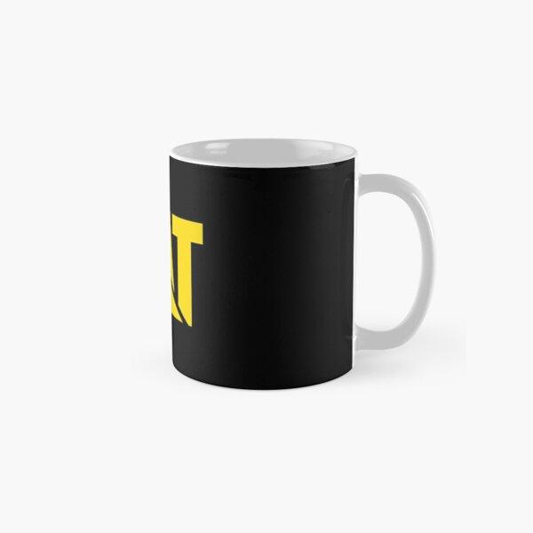 Caterpillar Potrait Logo Yellow Classic Mug