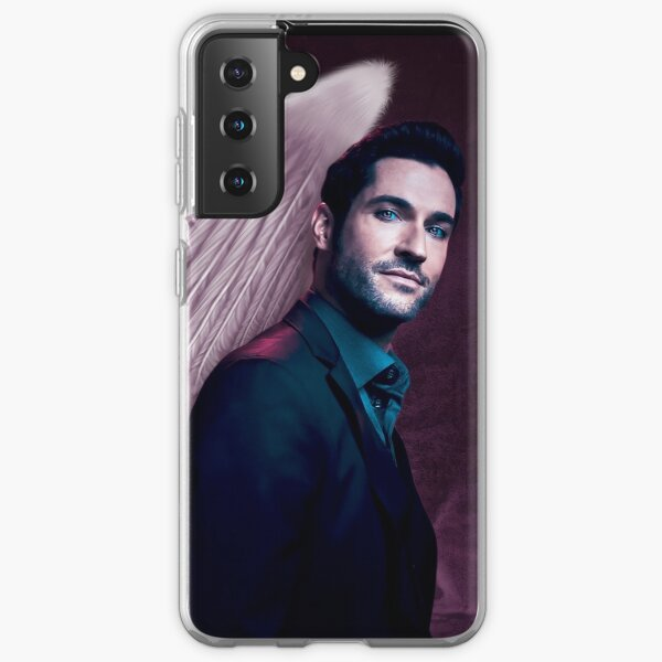 Lucifer Purple Wings Samsung Galaxy Soft Case