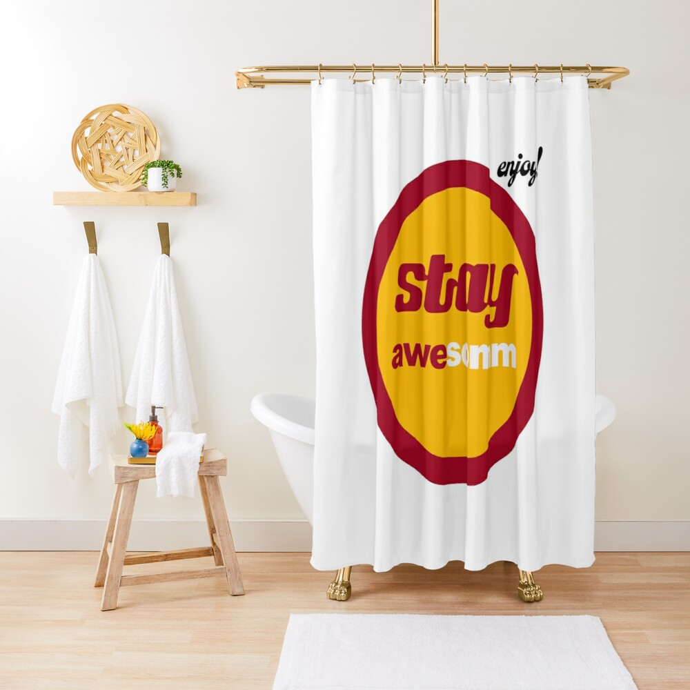 food and wine gear and gift ideas for wine lovers food enthusiasts Shower Curtain