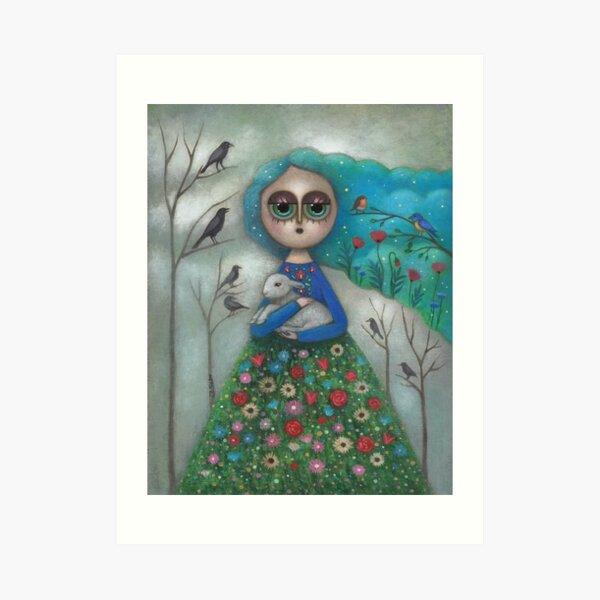Nature Maiden Art Print