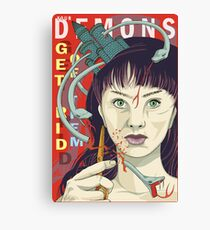 Your demons: Get rid of them Canvas Print