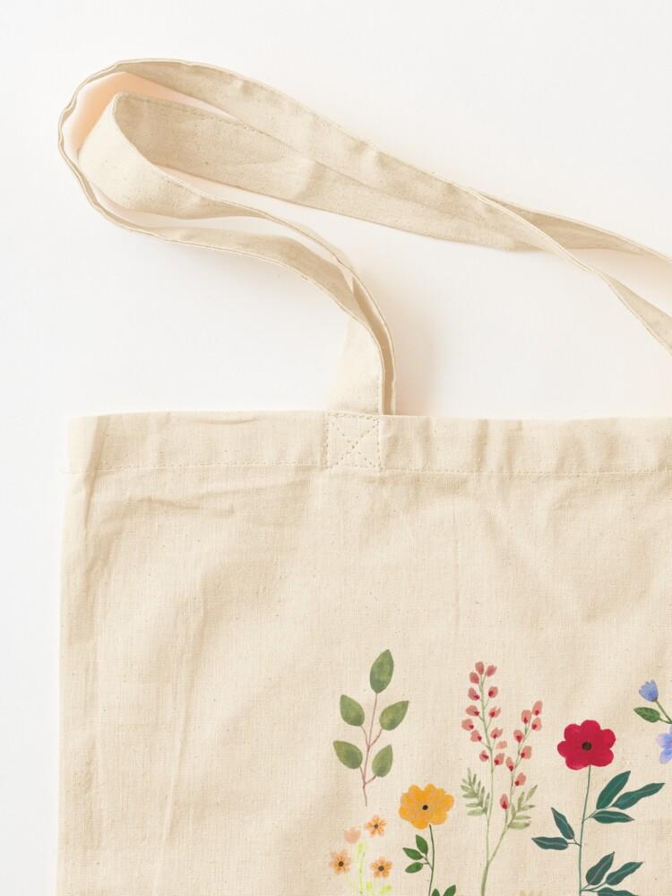 Alternate view of Spring Botanicals Tote Bag