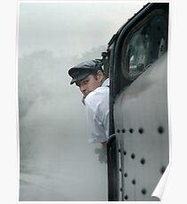 Train Driver Poster