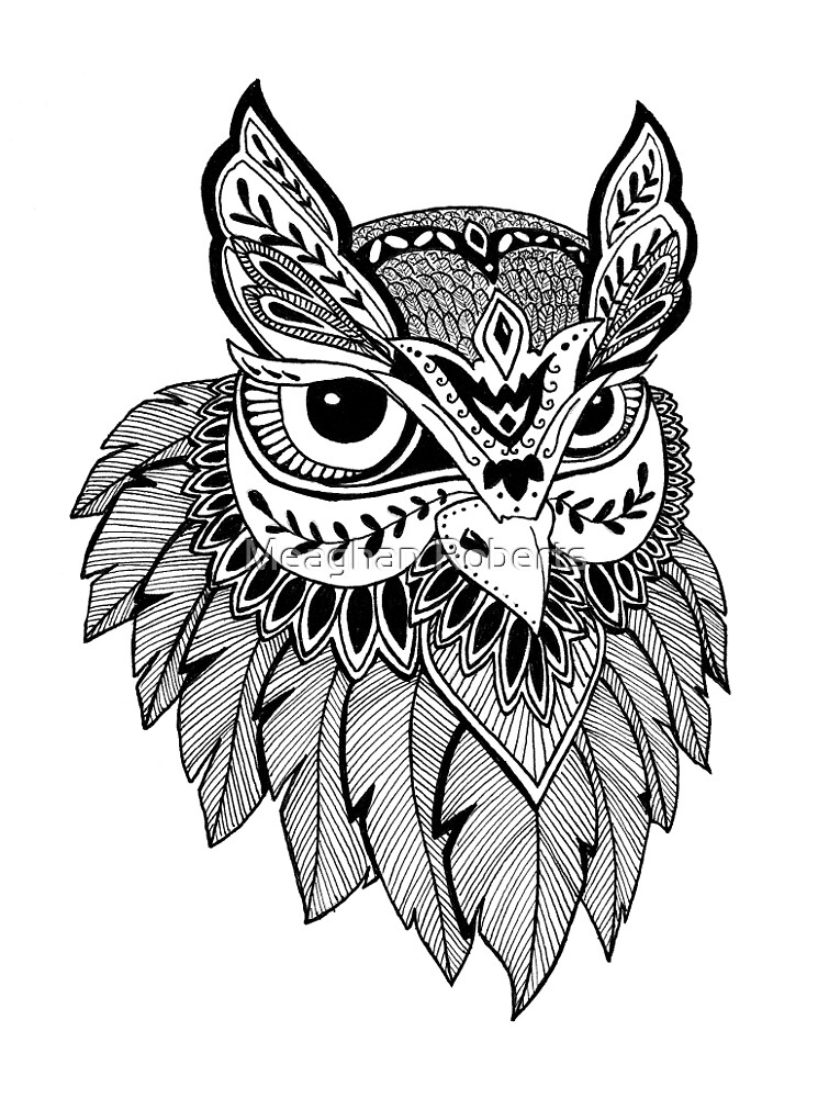 Owl Design by Meaghan Roberts