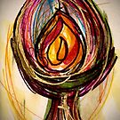 Unitarian Universalist Chalice Flame Of Hope 1 by 2MagicDenise