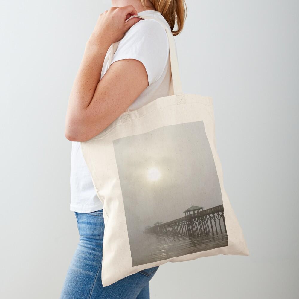 Bay St Louis Pier Tote Bag