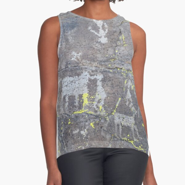 Arcosanti AZ petroglyphs Sleeveless Top