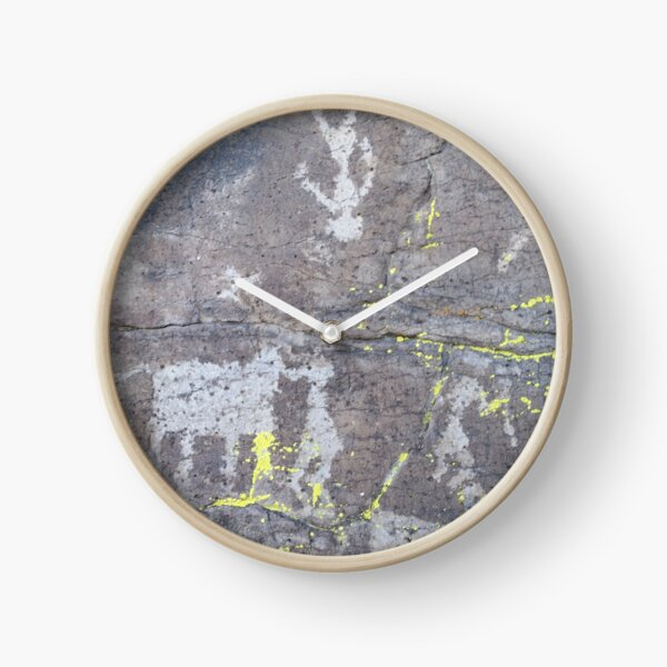 Arcosanti AZ petroglyphs Clock