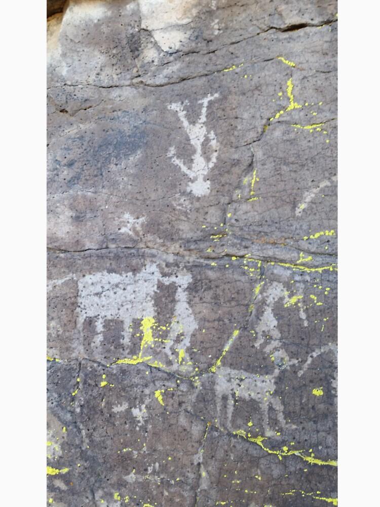 Arcosanti AZ petroglyphs by bsteveb