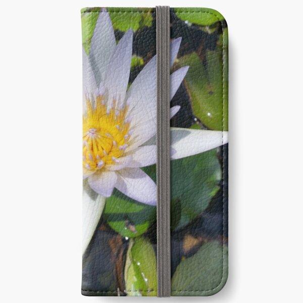The lotus flower iPhone Wallet