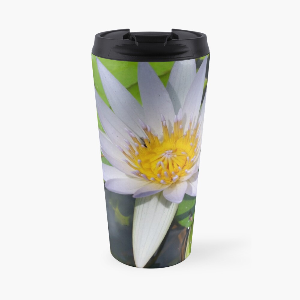 The lotus flower Travel Mug