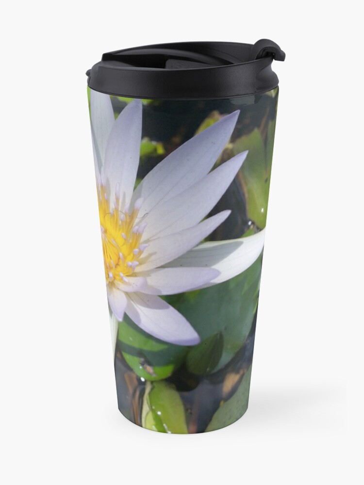Alternate view of The lotus flower Travel Mug