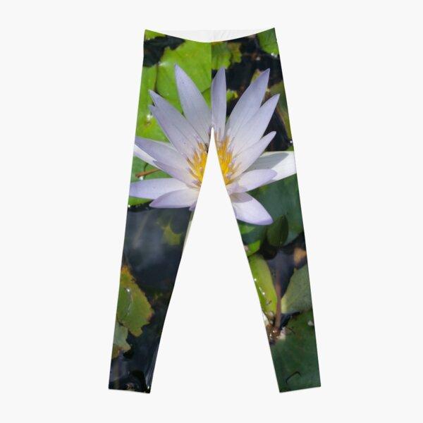 The lotus flower Leggings