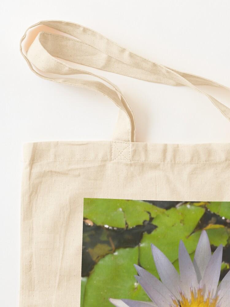Alternate view of The lotus flower Tote Bag