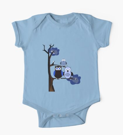 Blue Owls Kids Clothes