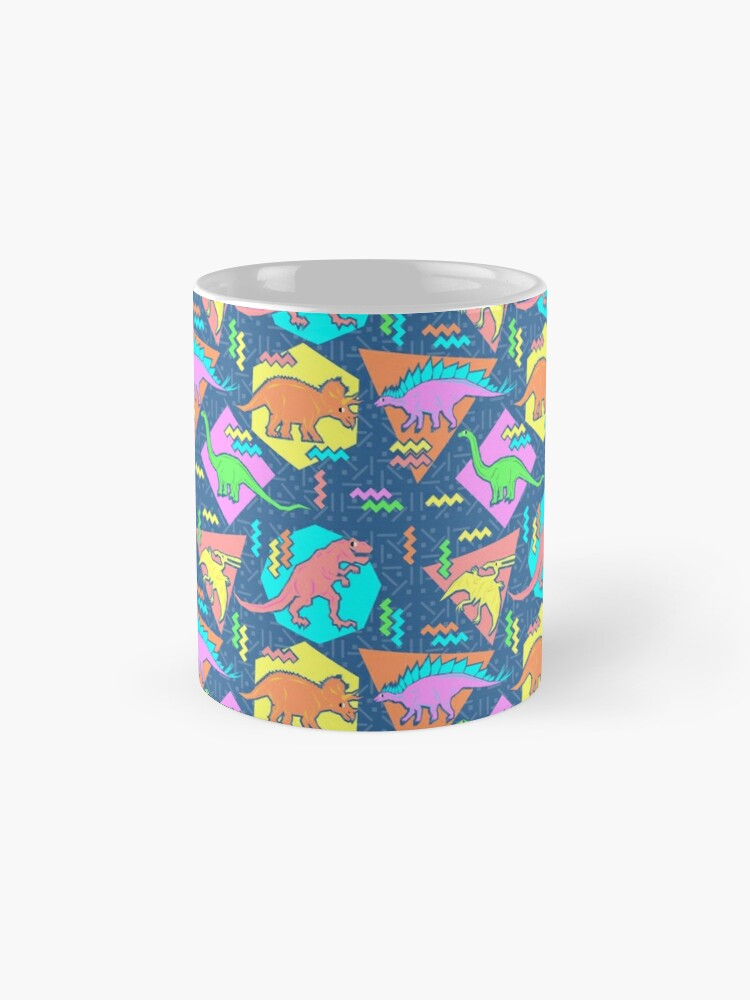 Alternate view of Nineties Dinosaurs Pattern Mug