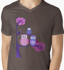Purple Owls T-Shirt