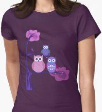 Purple Owls T-Shirt
