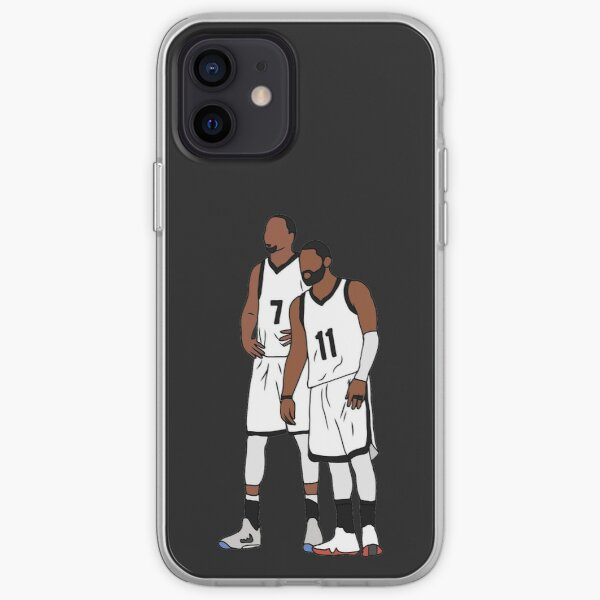 Kyrie And KD Nets iPhone Soft Case