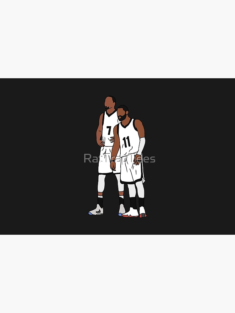 Kyrie And KD Nets by RatTrapTees