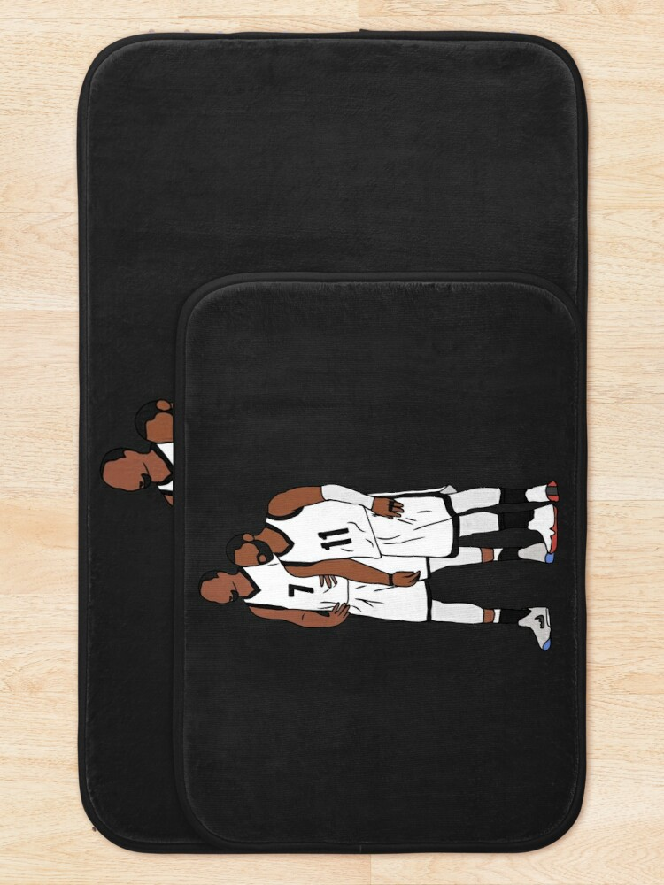 Alternate view of Kyrie And KD Nets Bath Mat
