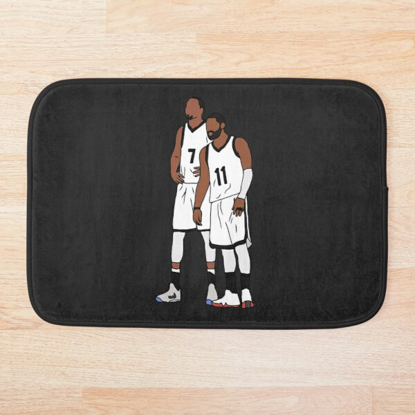 Kyrie And KD Nets Bath Mat